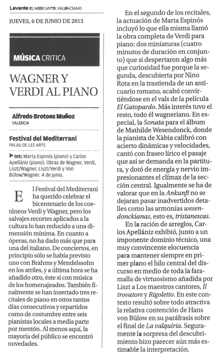 Crítica Brotons_Diario Levante
