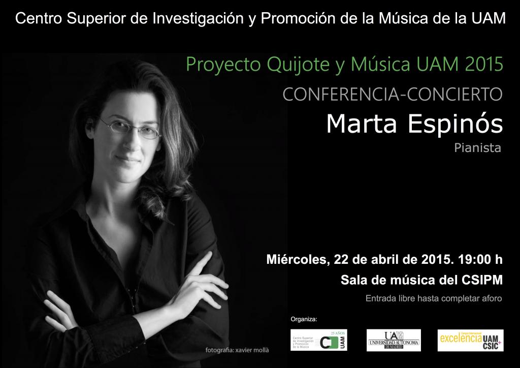 Concierto CSIPM Marta Espinós