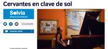 CERVANTES EN CLAVE DE SOL: ARTÍCULO EN 'EL MUNDO'