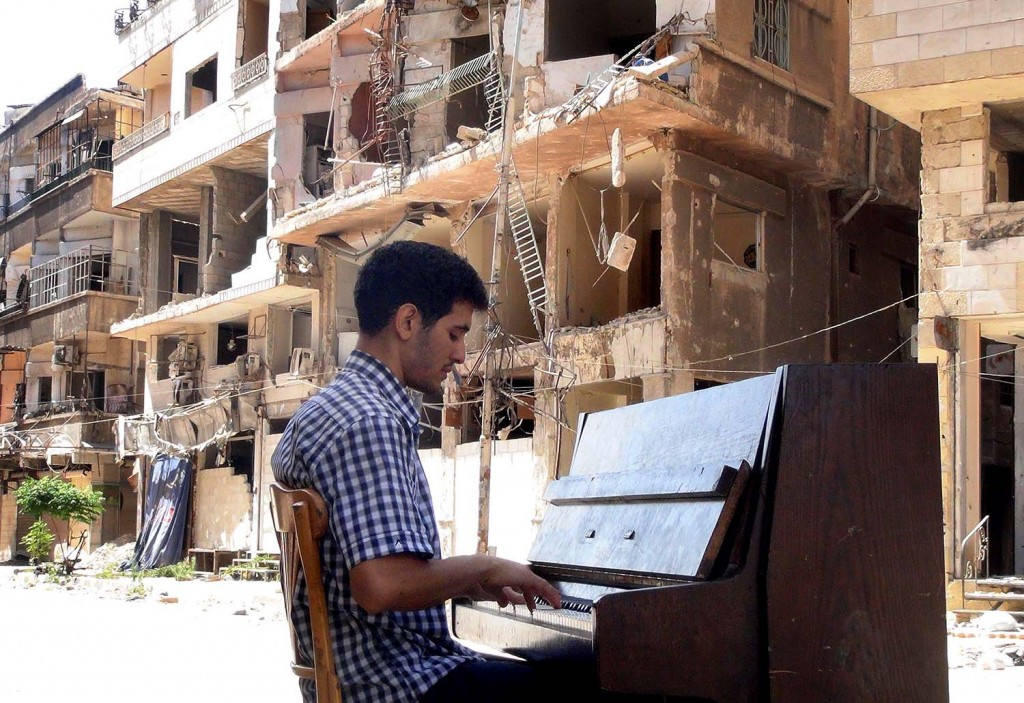 SYRIA-PALESTINIAN-CONFLICT-MUSIC-YARMUK
