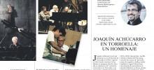 HOMENAJE A ACHÚCARRO: MONOGRÁFICO EN 'LA VANGUARDIA'