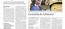 """""""LA SONRISA DE ACHÚCARRO"""": CRÍTICA EN 'LA VANGUARDIA'"""