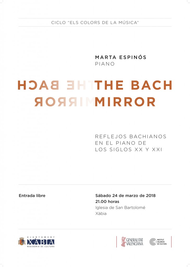 The Bach Mirror - Cartel web