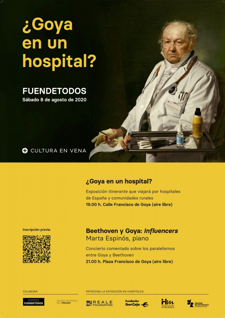 CARTEL FUENDETODOS_GOYA HOSPITAL